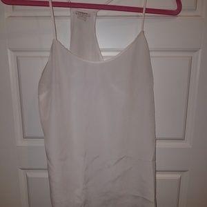 White blouse tank top